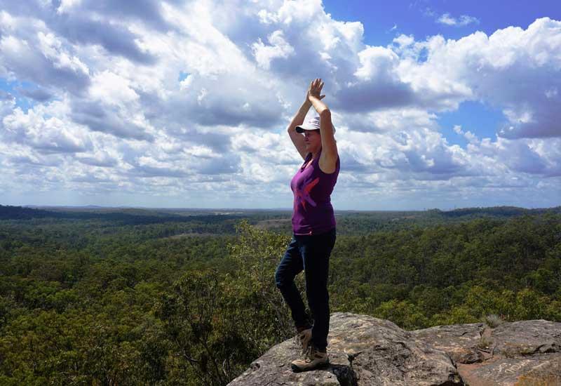 White Rock Mountain Brisbane - Lyn