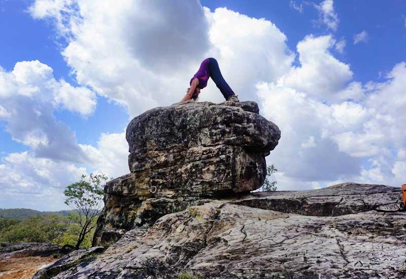 White Rock Mountain Brisbane Qld - Lyn